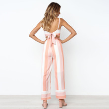 ФОТО summer, the new women's fashion printed stripe condole belt wrapped chest sexy backless two-piece outfit