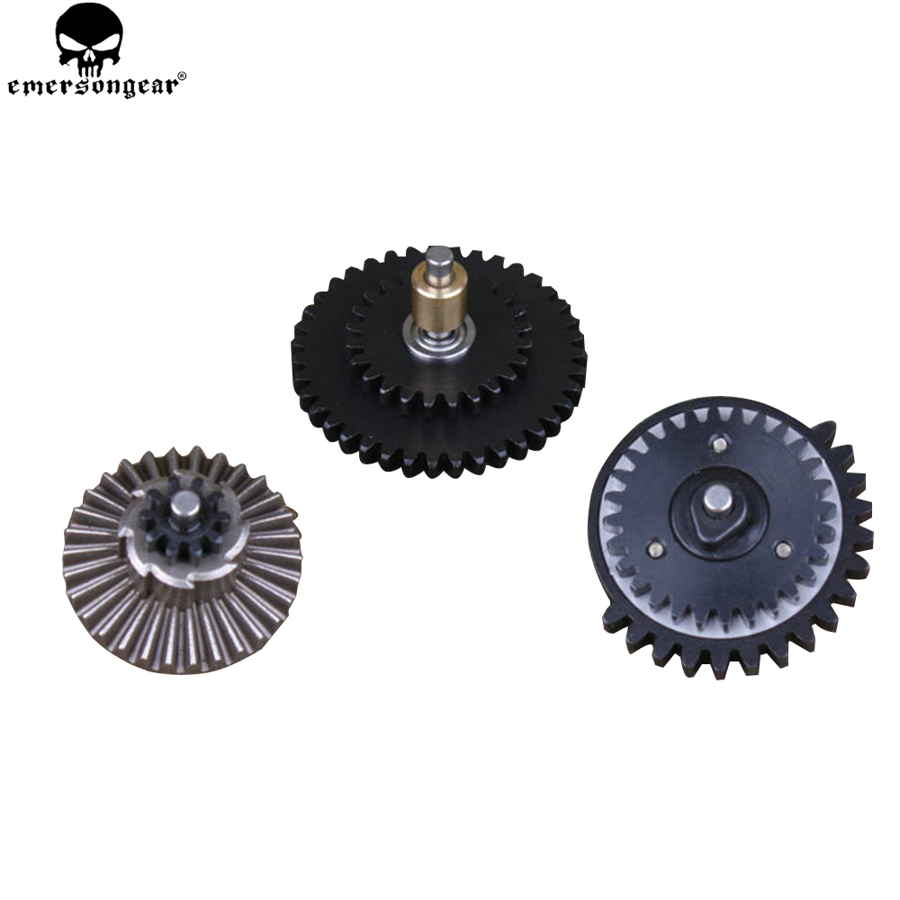 EMERSONGEAR 13:1 Gear Box BD Super Highspeed 3 Bearing Gear Hunting Accessories AEG Arisoft Combat Gear BD4772 surwish fb highspeed long axis motor for no 2 gear box modified blue