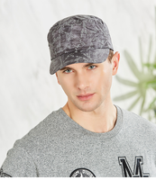 Reflective Camouflage Hat Breathable Sun Hat Men's Thin Sun Hat Sun Summer Outdoor Flat Top Cap