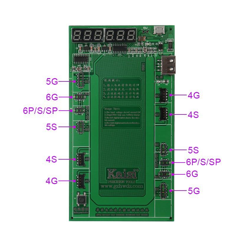 Baterijos įkrovimas ir suaktyvinkite plokštės skydelį USB - Įrankių komplektai - Nuotrauka 4