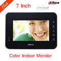 "Dahua 7"" TFT Doorbell Video Camera VTH1560B Door Phone Intercom System English Indoor Monitor H.264 Support Poe and SD card"