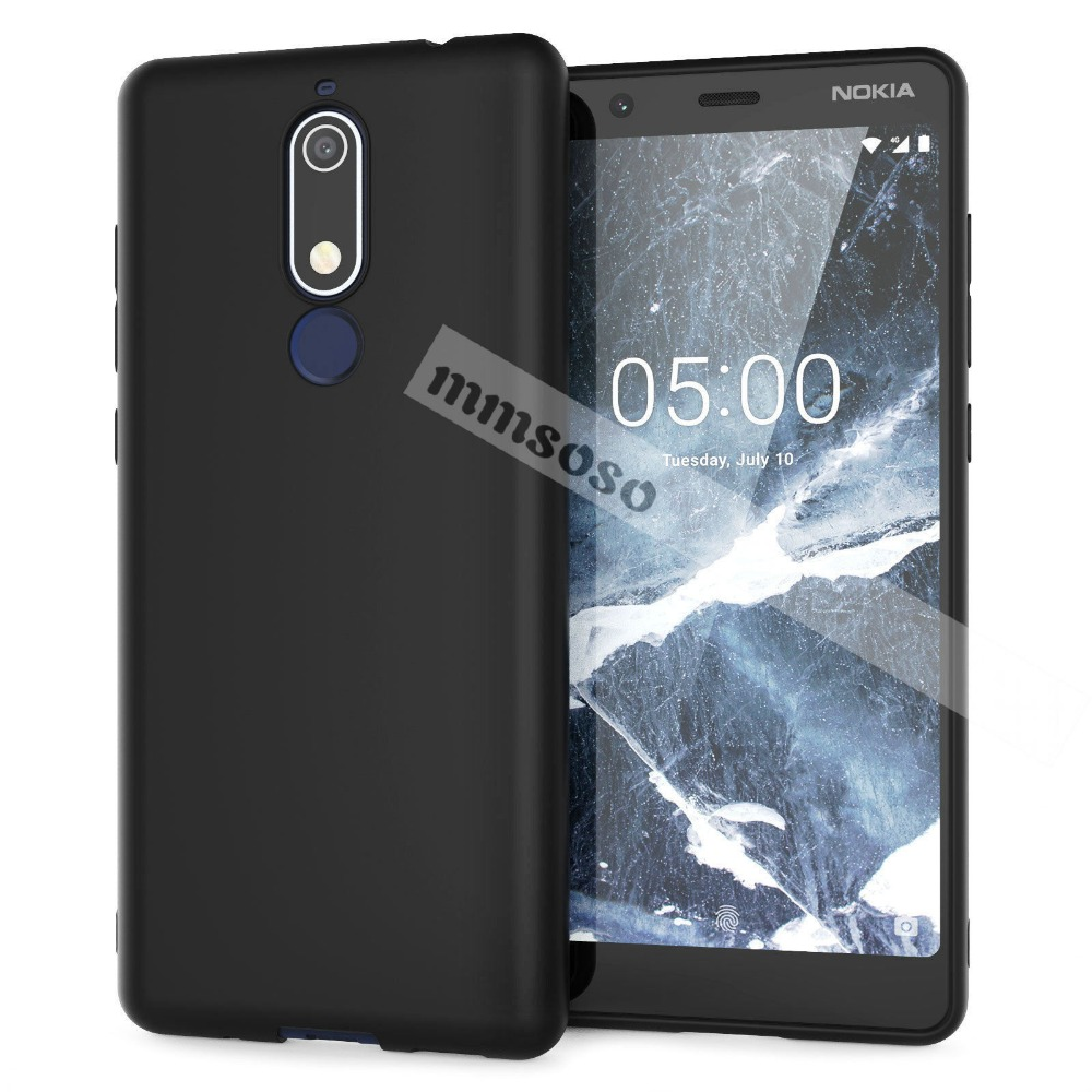 Soft <font><b>Case</b></font> For <font><b>Nokia</b></font> <font><b>5.1</b></font> <font><b>Case</b></font> <font><b>Nokia</b></font> <font><b>5.1</b></font> <font><b>Case</b></font> Soft Silicone Back Cover <font><b>Phone</b></font> <font><b>Case</b></font> For <font><b>Nokia</b></font> <font><b>5.1</b></font> 2018 TA-1075 TA-1061 TA-1088 TA-10 image