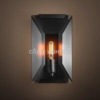 Moern Винтаж настенное бра лампа дымчатый Cristal Настенные светильники для дома ресторан отеля жизни и Украшения для обеденной