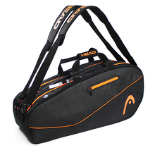 adults head tennis racket bag bagpack breathable sports backpack for 1 2 pcs rackets racquete with shoes bag double shoulder Original Large Head Bag For 3-6 Badminton Tennis Rackets Professional Male Sports Backpack With Independent Shoes Bag