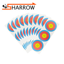 10 Pcs Archery Compound Bow Use Target Paper 63cmX22cm Precision Shooting Accessories Outdoor Sports