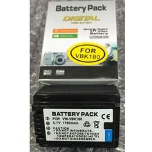 VW-VBK180 VW VBK18 lithium batteries VBK18 Digital camera battery For Panasonic HC-V700MGK HC-V10GK HC-V100GK HC-V100MGK HC-V500