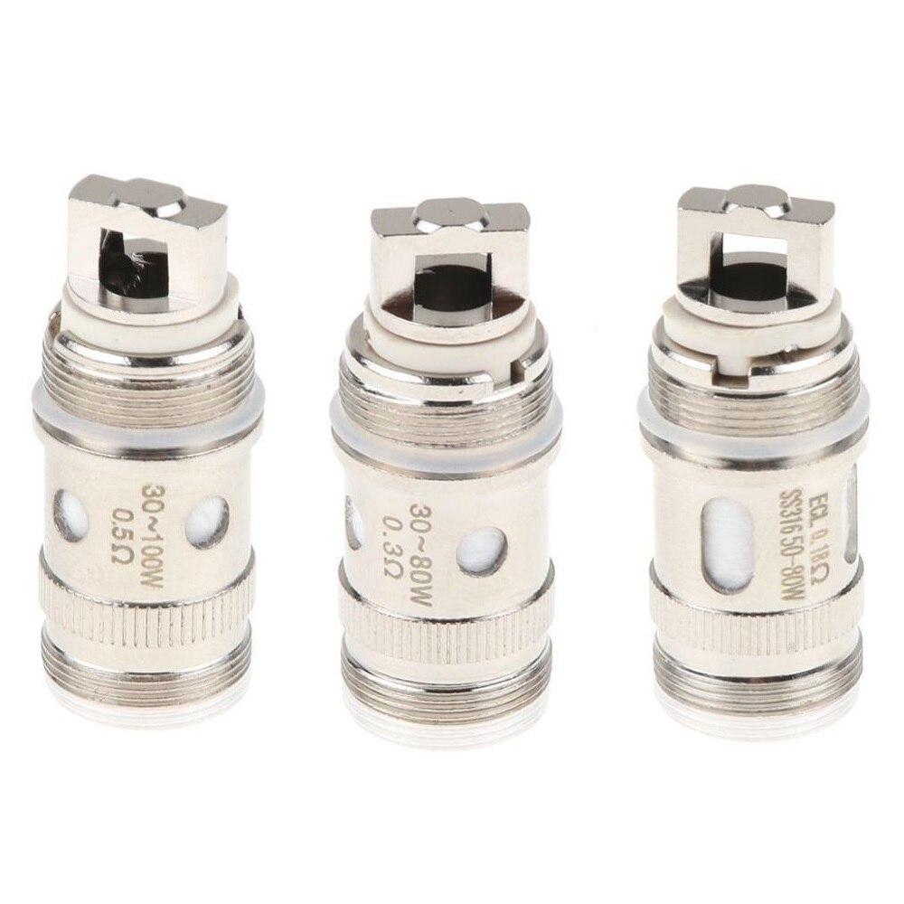 5pcs/lot EC Coil Head Fit For IJust S/iJust 2/iJust 2 Mini/Melo/2/3/Melo 3 Mini/Lemo 3 Atomizer Tank Vaporizer Istick Pico 75w