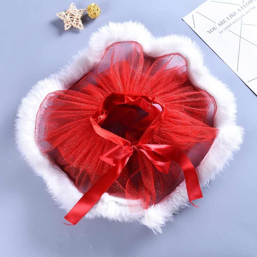 Новинка 2019 года; модная детская балетная юбка-пачка на Рождество для маленьких девочек; нарядные вечерние юбки + обруч для волос; yw0402