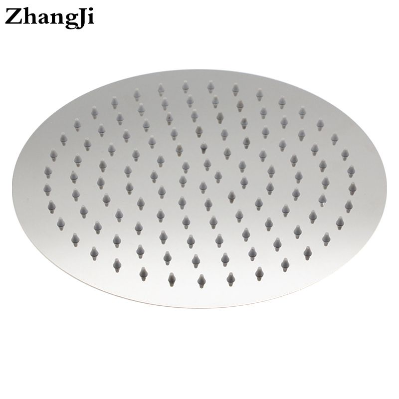 №10 inch round waterfall shower head High quality stainless steel ...