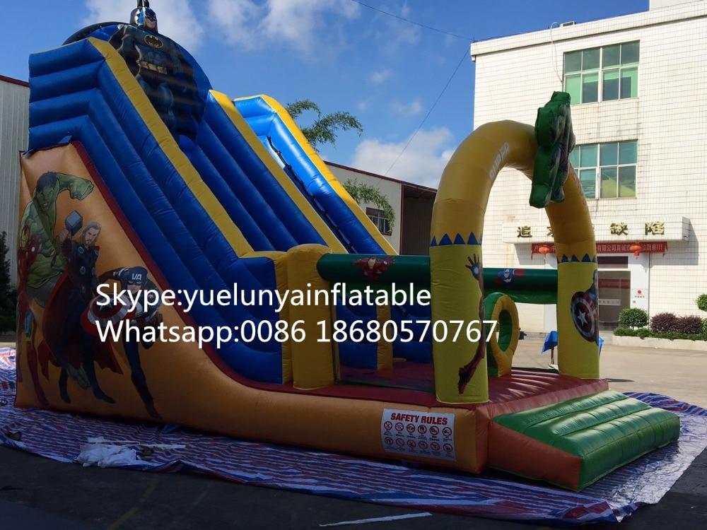 2016 nueva diapositiva inflable directa de la fábrica, araña - Man - Deportes y aire libre - foto 2