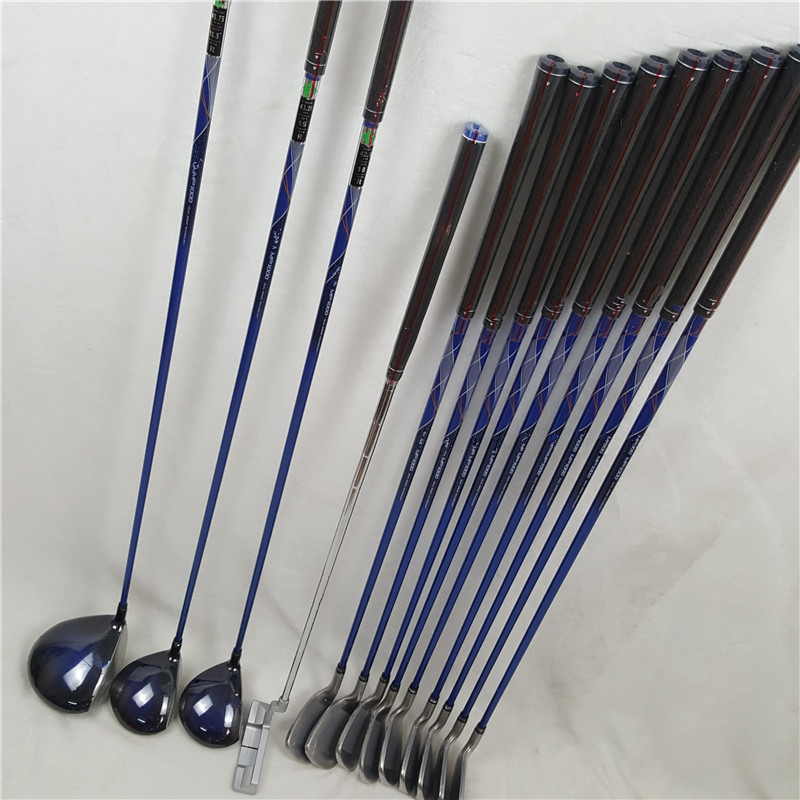 Men's Golf Club Full Set Of MP1000 Golf Clubs Set + Fairway + Golf Irons + Putter (13pcs) NO Golf Bag Graphite Shaft