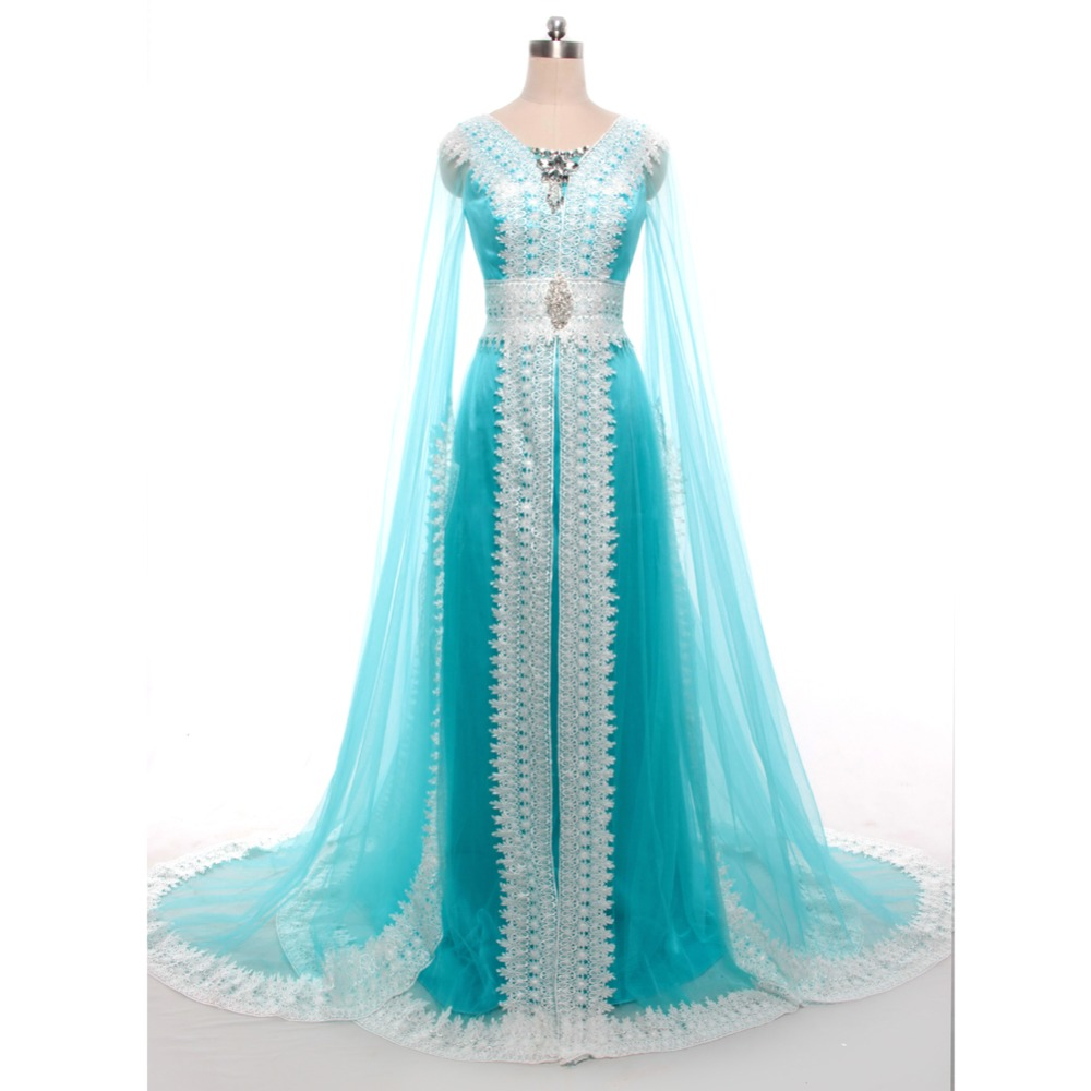 2017 New Middle East Design Evening Dresses Gown Appliques beaded ...