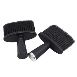 Image 3 - Professional Soft Black Neck Face Duster Brushes Barber Hair Clean Hairbrush Beard Brush Salon Cutting Hairdressing Styling Tool