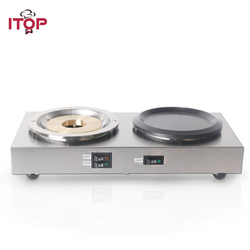 ITOP Full Automatic Coffee Maker machine Commercial Heating & Warming Plate Americano Coffee Pots For Buffet Hotel