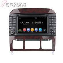 "7"" Quad Core Android 5.1 Car GPS Navigation For Benz S-Class W220/S280/S320/S350/S400/S430/S500 With Radio Multimedia Video"