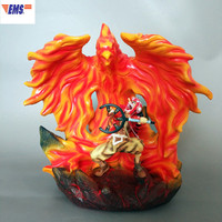 ONE PIECE Recoat Usopp GK Resin Firebird Statue Combat Sniper Bow The Straw Hat Pirates Action Figure Model Toy X1791