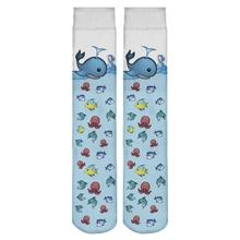 Hot Sale New Harajuku Long Socks Women Funny Socks 3D Full Print Emoji Sock Fish Casual