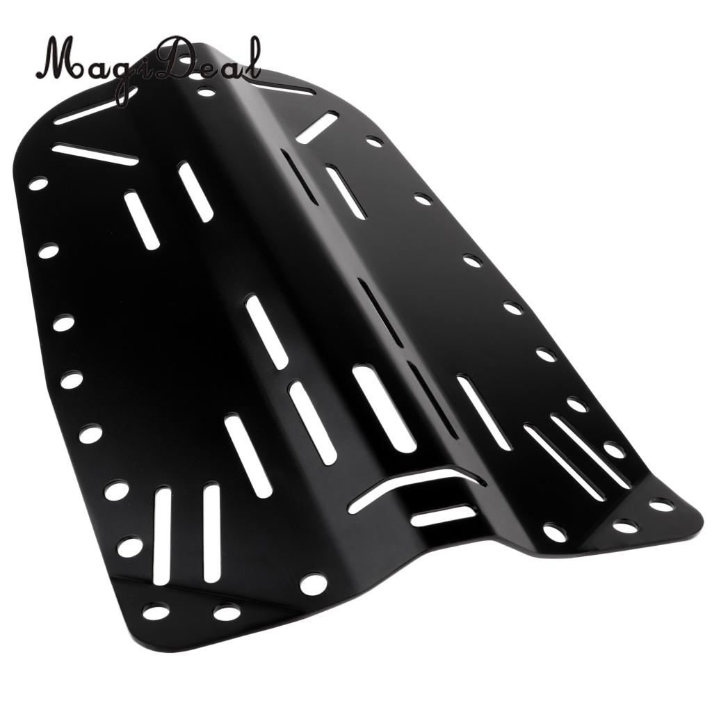 Durable Aluminum Alloy Technical Scuba Diving Standard Backplate Back Plate Accessories 39 5x 26 cm 15