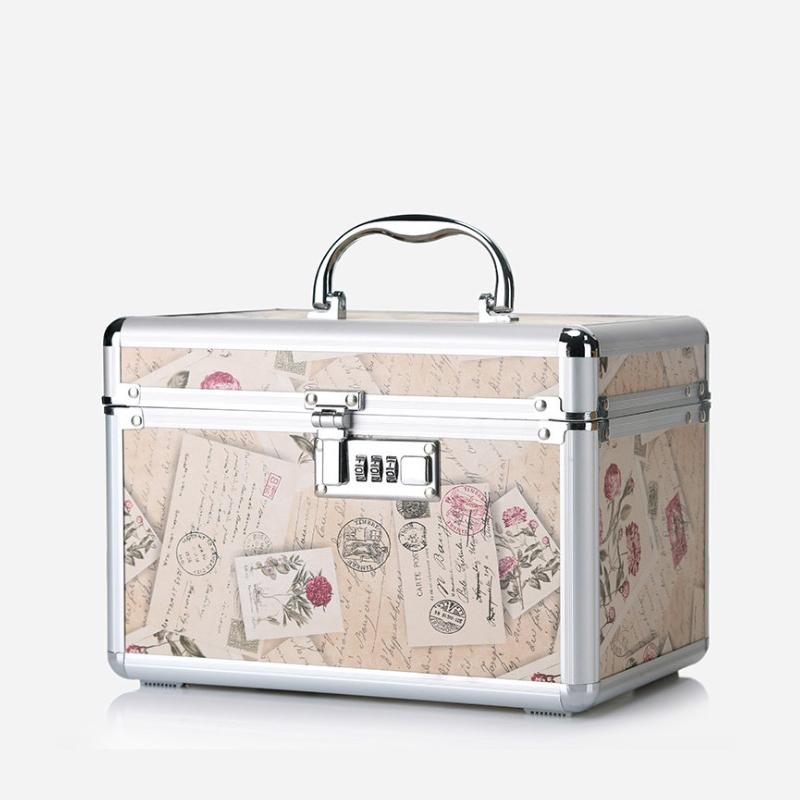 цены на 2018New Style Capacity 20-35 L Aluminium material Cosmetic Case with Coded Lock on hot sale
