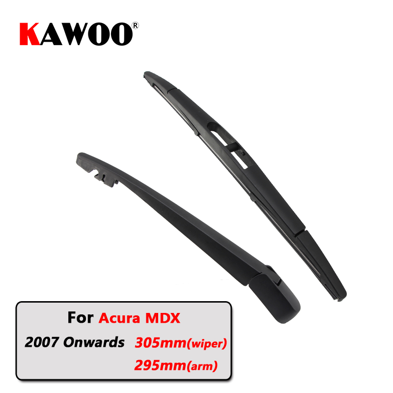KAWOO Car Rear Wiper Blades Back Window Wipers Arm For