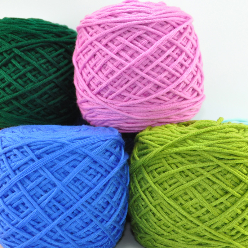 400g/Bag Multi Cotton Special Clearance Scarf Hat Line Needle Han Cotton Baby Yarns Thick Wool Yarn For Knitting Eco-Friendly