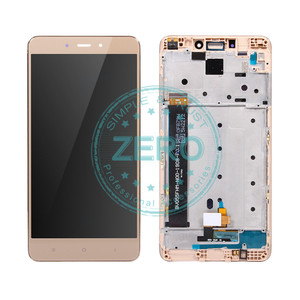 Image 4 - For Xiaomi Redmi Note 4 MediaTek LCD Display Frame Complete Touch Screen Panel Redmi Note4 Note 4 MTK LCD Digitizer Spare Parts