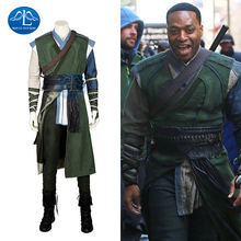 2017 New Arrival Hot Movie Doctor Strange Baron Mordo Cosplay Costume For Man Halloween Custom Made doctor strange cloak cosplay costume dr strange steve red cloaks magic robe halloween party long cape