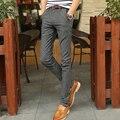 2017 Men's Slim Fit Pants Brushed Summer Casual Pants Male Taxi Fertilizer Xl Korean Slim Tide Cotton Pants Linen Pants 6630p55