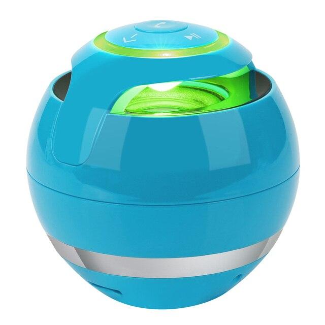 Maiha M18 Portable Wireless Mini Bluetooth Speaker Super Bass Boombox Sound box with Mic TF Card FM Radio LED Light
