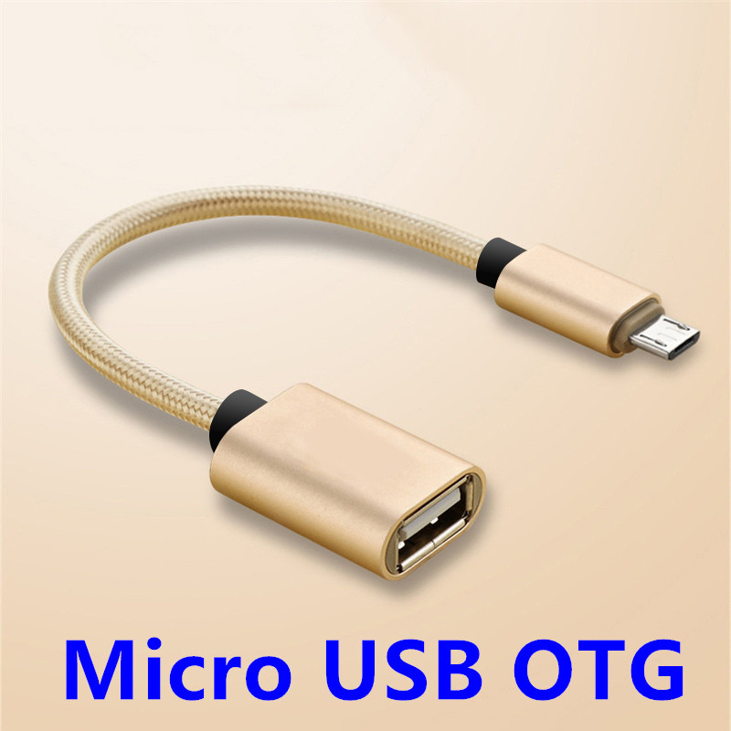 Micro USB Male To USB Female OTG Adapter Cable Cord For Samsung Huawei Mate 20 HTC Xiaomi Android Tablet PC OTG Smart Phone