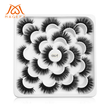 5/7/9/10 Pairs 3D Faux Mink Eyelashes Natural Long False Dramatic Volume Wispy Fake Lashes Makeup Extension