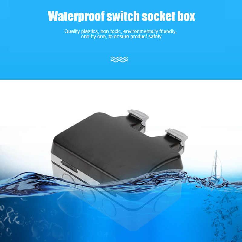 קיר מתג שקע מקרה עמיד למים IP66 נגד אבק עמיד קל התקנה QP2