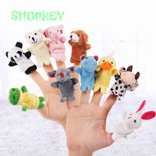 Кукол атрибуты праздничные пальцем finger кукла развивающие младенца куклы новорожденных животных