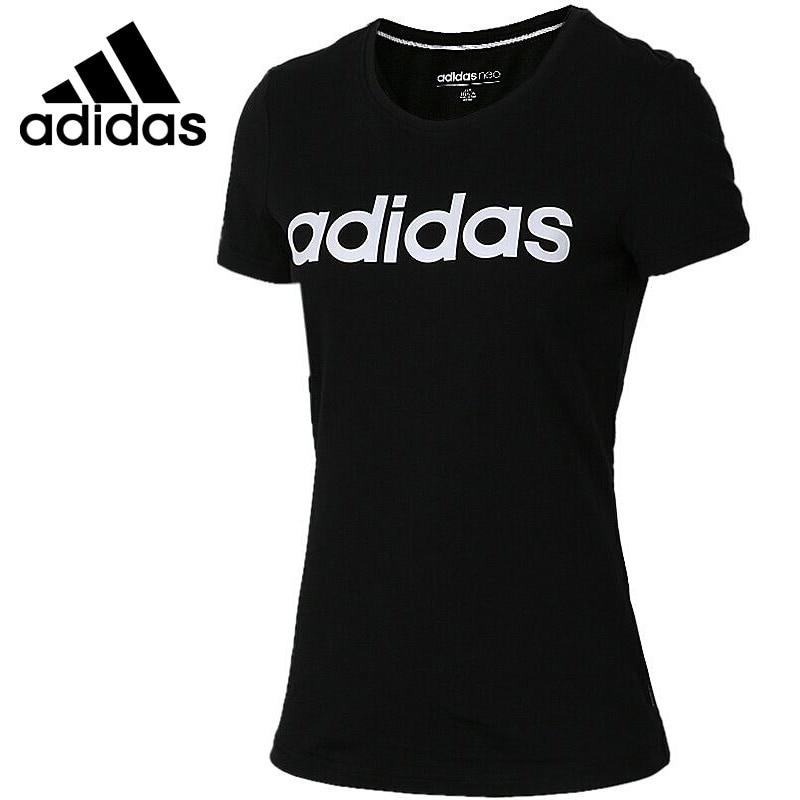 Original New Arrival  Adidas Adidas NEO Label Womens T-shirts short sleeve Sportswear  Original New Arrival  Adidas Adidas NEO Label Womens T-shirts short sleeve Sportswear