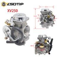 ZSDTRP Motorcycle Carburetor XV250 XV125 QJ250 XV 250 XV 125 Aluminum Carburetor Assy For Yamaha Virago 125 XV125 1990 2014