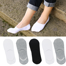 5pairs Men Socks Fashion Casual Classic Male Invisible Boat Sock Slippers Shallow Mouth No Show Socks Man Socks Chaussette Homme