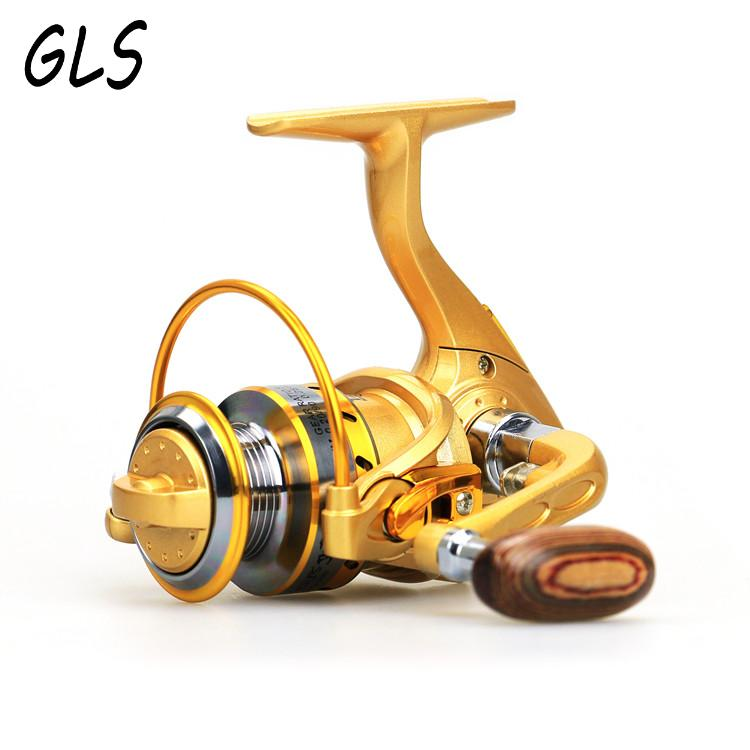 Mini-spinning fishing reel 13BB 5.5: 1 ultra-light high-strength Fishing wheel Roteer de spoel