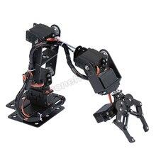6DOF алюминиевая рука робота манипулятор механический зажим коготь Базовый комплект MG996R DS3115 сервопривод кронштейн Arduino Роботизированная образование