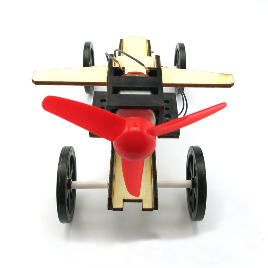 1suit J467 DIY Assembly Wind Power Model Car Motor Drive Propeller Small Car Spare parts DIY Assemble Free Shipping USA Brazil ds381b wooden 3d army puzzle toy model anti air vehicles diy assemble toys boys free shipping usa brazil