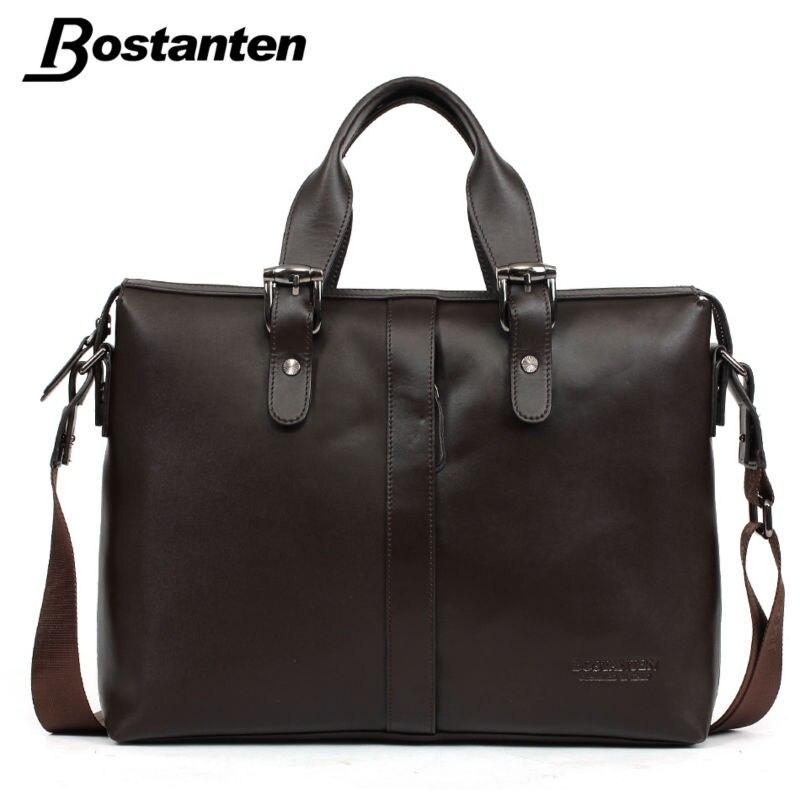 Aliexpress.com : Buy Bostanten 2016 NEW Men's Leather Briefcase Vintage Briefcase Leather Laptop