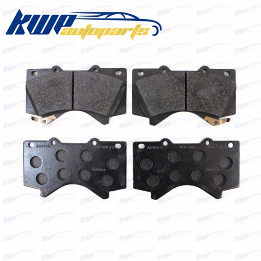 Toyota Brake Pads >> Us 29 99 45 Off Front Brake Pad Kit For Toyota Land Cruiser 200 Uzj200 Vdj200 Grj200 Urj20 04465 60280 In Car Brake Pads Shoes From Automobiles