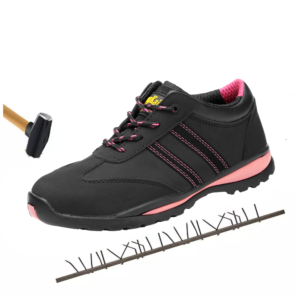 f87ada9d US $44.0 50% OFF|Women's Work Safety Shoes Woman Outdoor Footwear  Waterproof Insulated 6KV Ankle Boots Indestructible Shoes Botas Women  Sneakers-in ...