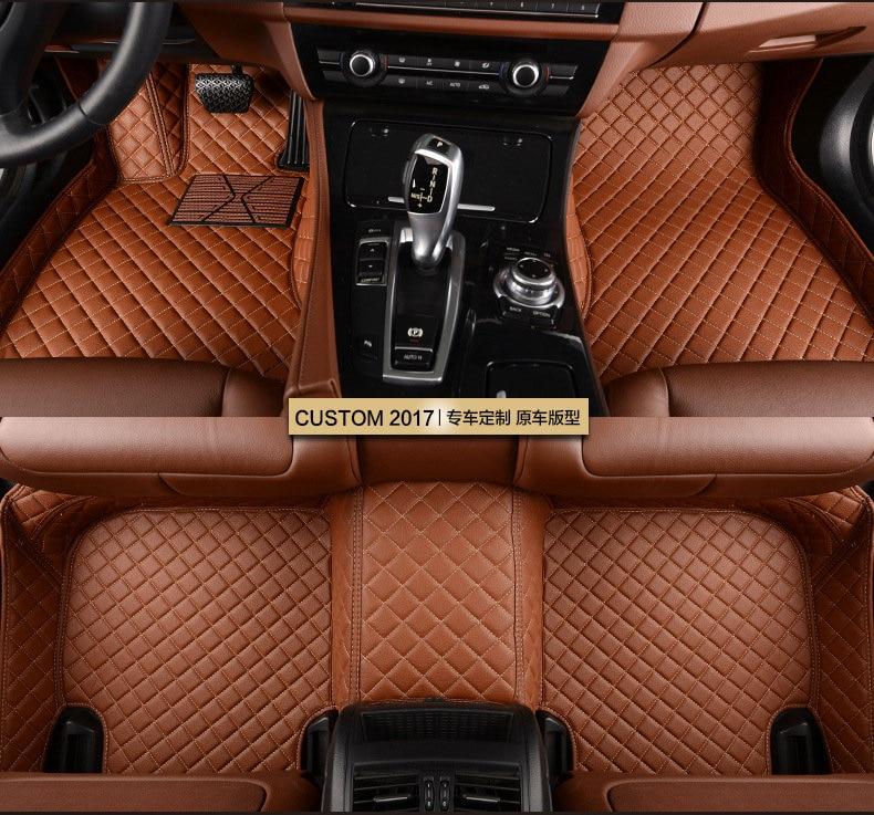 Tapis de sol de voiture sur mesure pour Renault Koleos Megane 2006 Laguna Latitude Fluence tapis de voiture scénique pour Captur 2018 Talisman J623