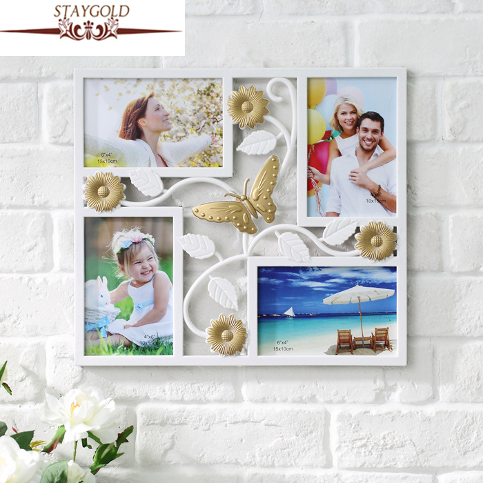 Wedding Photo Frame Wall Frame Sets White Picture Frame Photo Frame Home Decor Accessories