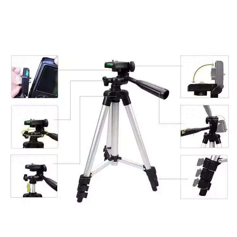 Professional Extendable Tripod Monopod For Camera Mobile Phone Ipad Aluminium Alloy Stand Mount Tripod Holder For DV Video 5