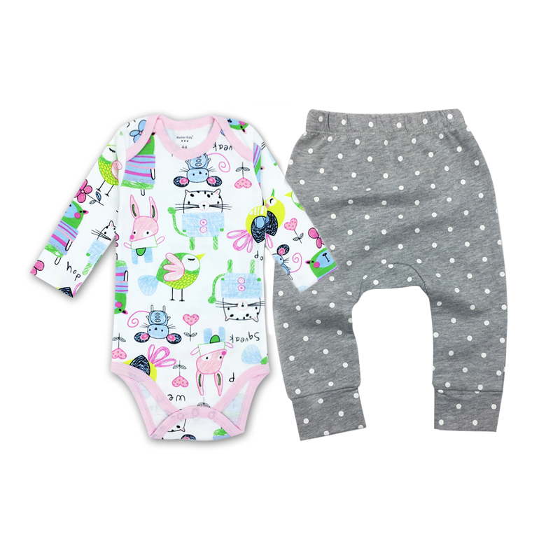 Baby boy girl Pants clothes 100% Cotton Infant Pants Cartoon Animal Printing Embroidery pattern Lovely PP Pants For Trousers 6M