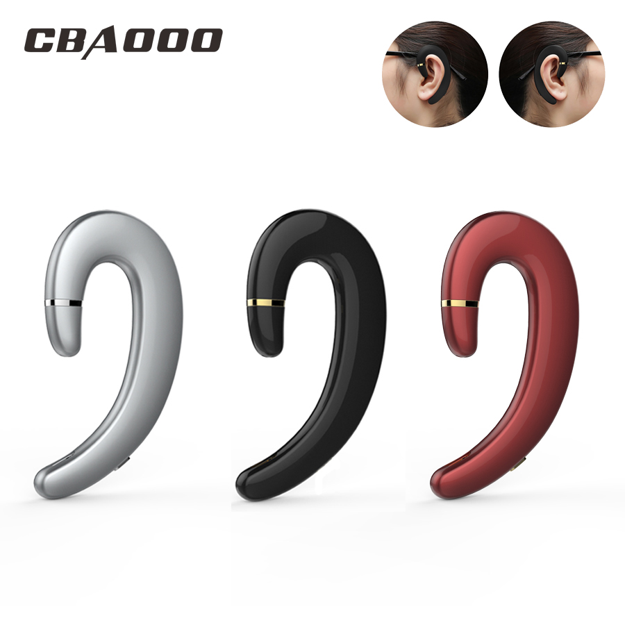 CBAOOO Cordless kopfhörer Drahtlose Bluetooth Ohrhörer Wasserdicht Bluetooth Ohrhörer Sport Headset Freihändiger Kopfhörer für telefon