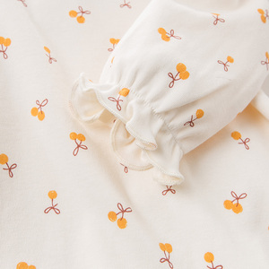 Image 4 - DBZ11143 1 dave bella spring autumn baby girls cute floral shirts infant toddler 100% cotton tops children high quality clothes