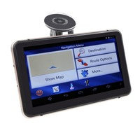 Android GPS Navigation 7inch Touch Screen Wifi Bluetooth DVR FMT 8G Flash With Map