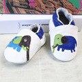 Мальчик девочка собака слон обувь детская милые животные Кожаные Ботинки Мягкой Подошвой Первый Ходок 0-2 Т 68 стилей